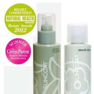 *READY STOCK!* Suncoat Award-Winning Natural Sugar-based Fragrance-free Non-scented Hair Spray