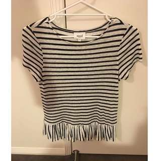 BRAND NEW LADIES SEED LINEN FRILL TOP PAID $89.95!