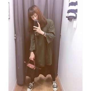 韓國素色棉T