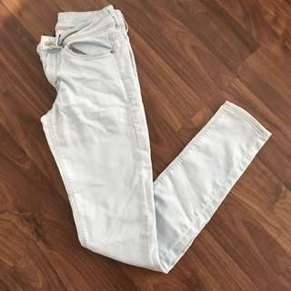 H&M Light Wash Denim