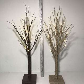 HOLIDAY MEMORIES 2FT TWIG TREES DIFFERENT MODELS