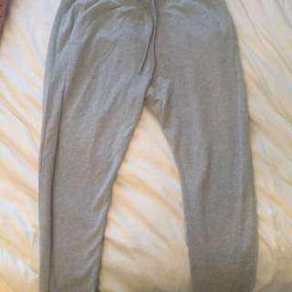Men's grey track pants