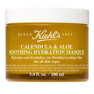 NEW Kiehl's Calendula & Aloe Soothing Hydration Masque RRP$67