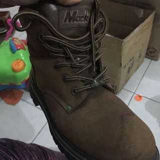 Mack Steel Toe Boots