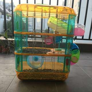 Hamster cage 3 storey