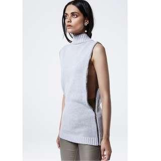 ASILIO Suspicious Minds Knit Top / Vest .. Size S/8
