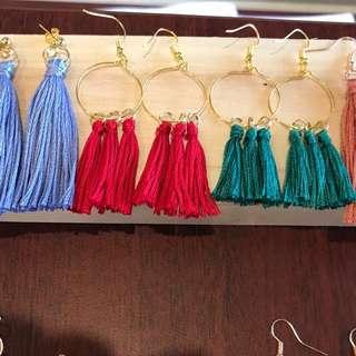 Assorted Tassel Earrings