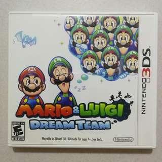 Mario and Luigi Dream Team 3DS Game