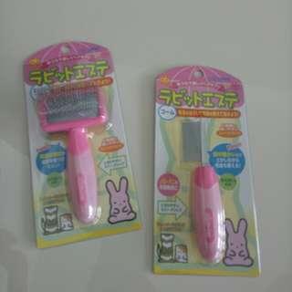 BNIP GEX Grooming Brush Flea Comb