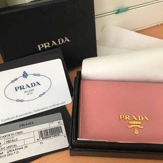 90%new PRADA card holder