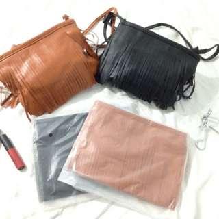 Korean fringe bag 💓