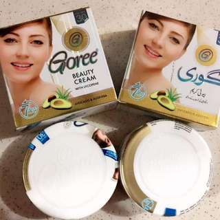 goree cream and soap set