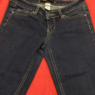 Garage clothing jeans size 5