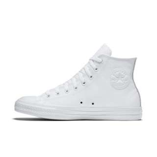 White leather converse - size 39