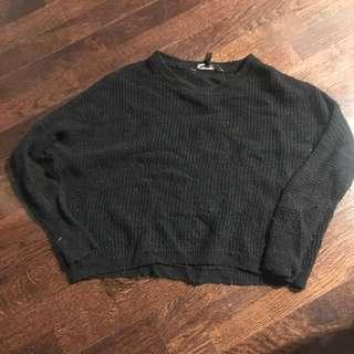 BCBG cropped sweater