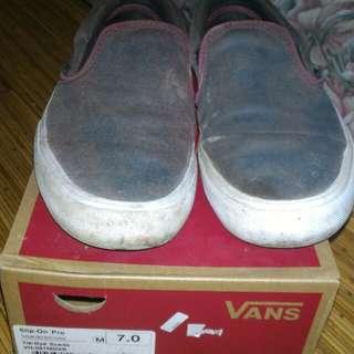Vans slip on pro Tie Dye Suede size 7 25cm