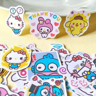 Sanrio Party Scrapbook / Planner Stickers #35