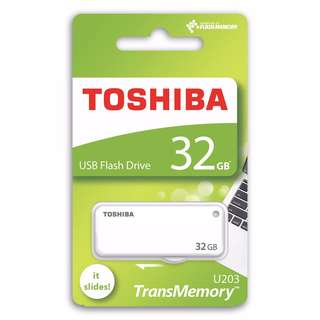 Toshiba Yamabiko U203 32GB TransMemory USB 2.0 Flash Drive