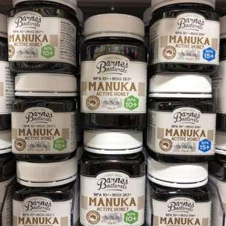 澳洲純天然BARNES NATURALS 麥盧卡蜂蜜