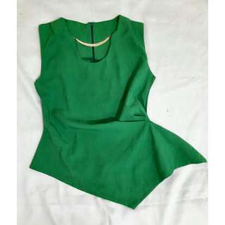 Asymmetries Green Top
