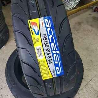Tayar 205/40/17 tyre 215/45/17 tayar murah