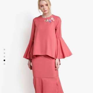 LUBNA BEADED EMPIRE LINE KURUNG