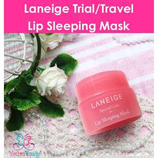 Laneige Trial/Travel Lip Sleeping Mask
