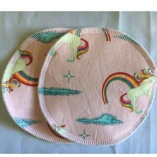 Nursing Pads - pink Unicorn - last pair