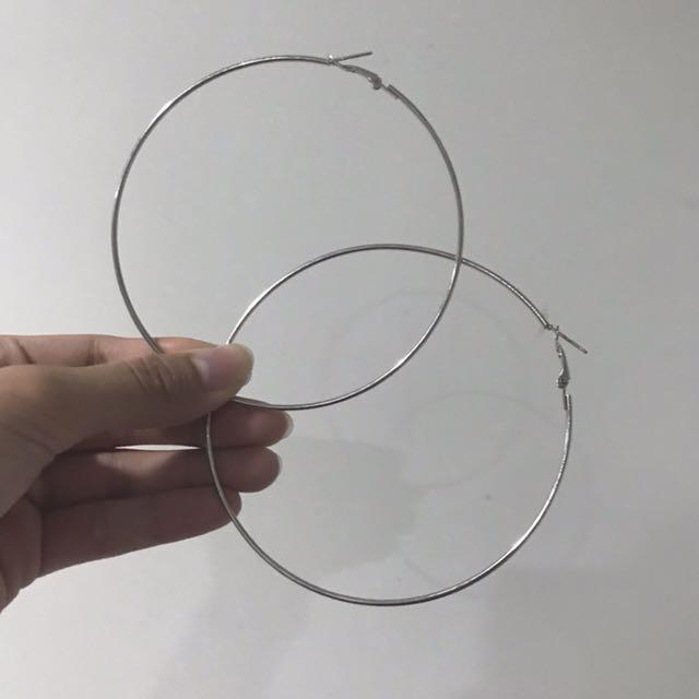 大圈圈耳環10cm