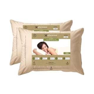 AllerEase 有機布套枕頭二入組 50 x 71 公分