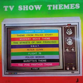 VINYL RECORD- TV SHOW THEMES (NEGOTIABLE)