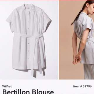 Bertillon blouse