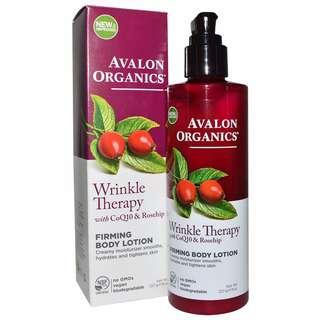 Avalon Organics 沐浴乳 (含CoQ10及Rosehip oil (玫瑰果油), 抗皺, 緊緻肌膚)