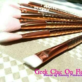 Gold Mermaid Brushes (SET)
