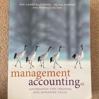 Accounting and Marketing textbooks