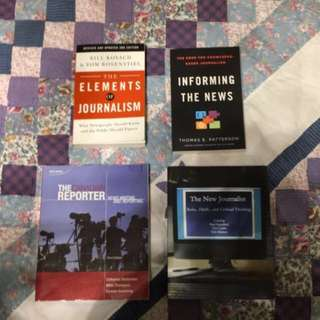 JOUA01 Journalism Textbooks