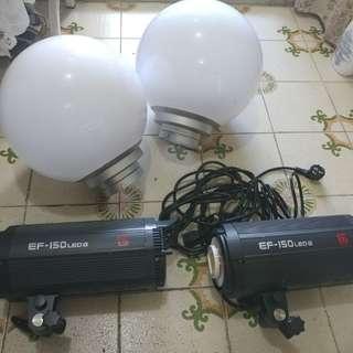 LED 影樓持續光 金貝 EF-150W