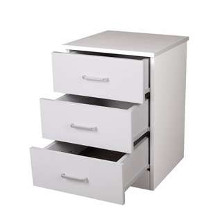 Brand new 3 drawers Beside table On Sale!