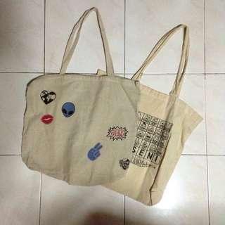 2 Tote Bag