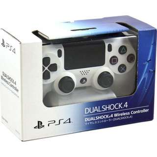 PS4 DualShock 4 white
