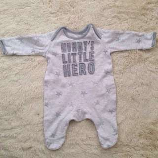 Authentic George baby rompers