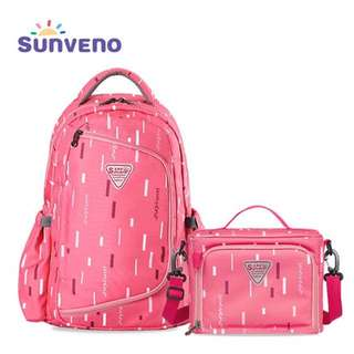 SUNVENO High-Capacity Baby Bag 2in1 Waterproof Baby Diaper Nappy Bag Backpack Organizer with Small Bag Inside bolsa maternidade