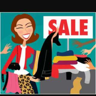 Everything must go clearance sale!