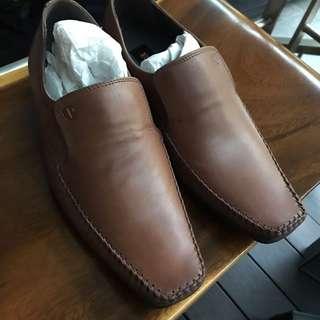 BNIB Ben Sherman tan leather shoes US7. 5@