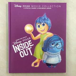 Brand New Inside Out Story Book Disney Pixar Movie Collection (hardcover)