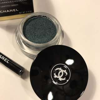Chanel Longwear Cream Eyeshadow 膏狀眼影 眼影膏 #126 GRIFFITH GREEN