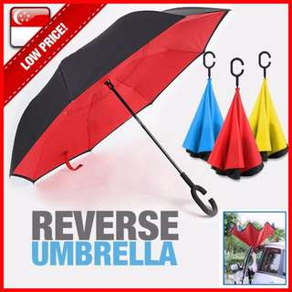 Car Reverse Umbrella C Handle