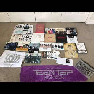 TEEN TOP FULL PACKAGE