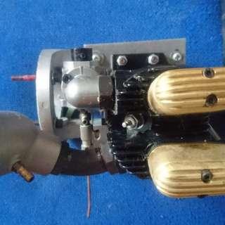 Saito FA-180 GOLDEN KNIGHT 4 stroke engine