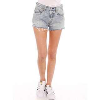LEVI 501 Cutoff Shorts Size 28